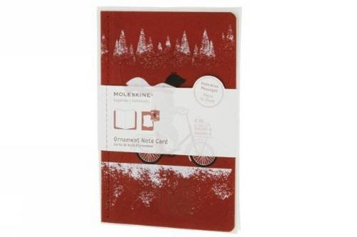 Moleskine Journey Ornament Note Card with Envelope, (5