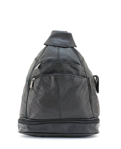 Bacci Medium Size Leather Sling Back Pack