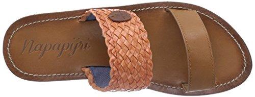 NAPAPIJRI FOOTWEAR Anna - zuecos de cuero mujer marrón - Braun (rust brown N41)