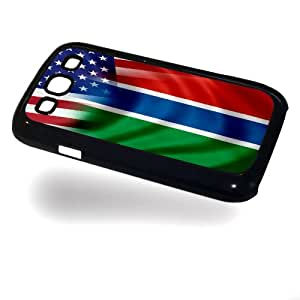 Case for Samsung Galaxy III/3 with Flag of Gambia and USA