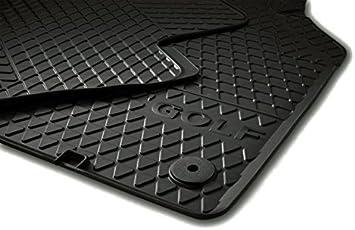 Golf 5 6 Gummi Vw Fußmatten Set Original Schwarz Auto