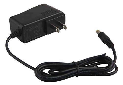 DC12V 1A Switching Power Supply Adapter, Security Camera Power Adapter, CCTV Power Supply, 100-240V AC to 12V DC 1Amp (1000mA) Charger Cord for LED Strip Lights, Security Dome/Bullet Camera,Wall Plug (1a Regulated Power Supply)