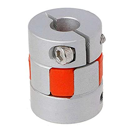"""5mm x 12.7mm 1//2/"""" Jaw Shaft Coupling CNC Spider Axial Coupler Stepper Motor DIY"""
