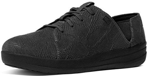 Fitflop F-sporty Laceup Sneaker - Zapatilla baja Mujer Black (All Black)