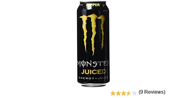 Monster - Ripper Juiced, Bebida energética, 500 ml, Lata: Amazon ...