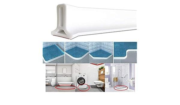 Tiras Flexibles De Silicona for Repeler El Agua for El Hogar Ba/ño Cocina FWKTG Umbral De Ducha Barrera Size : 100cm Barrera De Ducha Tap/ón