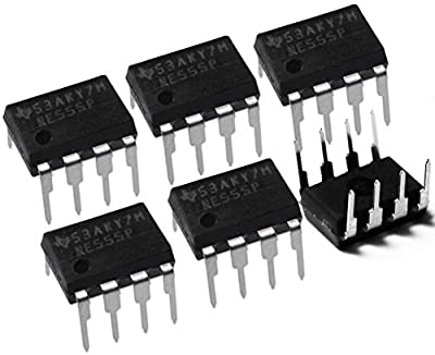 10 Pieces NE555P NE555 Single Precision Adjustable Timer DIP8