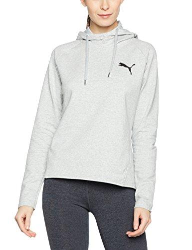 Puma Active Ess - Chaqueta con capucha para mujer gris