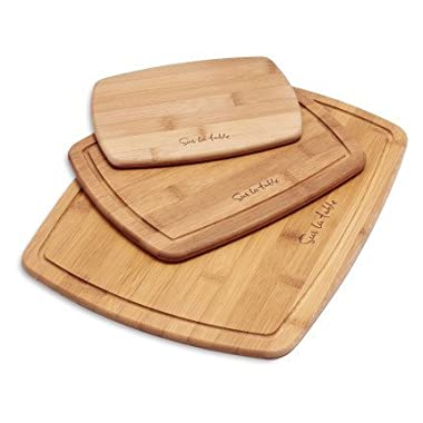 Sur La Table Thin Bamboo Cutting Boards 111302S , Set of 3