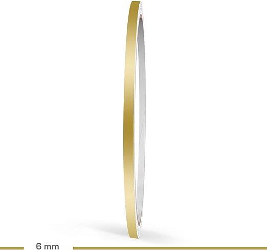 Motoking Zierstreifen Gold Matt 6 Mm Breite 10 M Länge Aufkleber Folie Auto Boot Motorrad Wohnmobil Wohnwagen Mehr Auto