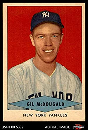 Amazoncom 1954 Red Heart Gil Mcdougald New York Yankees