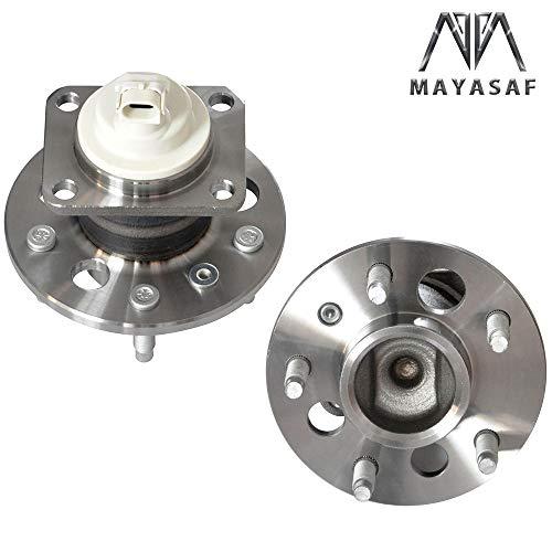 - MAYASAF 512150x2 Rear Wheel Hub Bearing & Hub Assembly w/ABS for Chevy Impala Pontiac Grand Prix