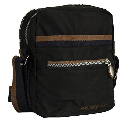 Big de para asas 2 Handbag Shop Black Bolso Style de tela mujer t6nrtqA