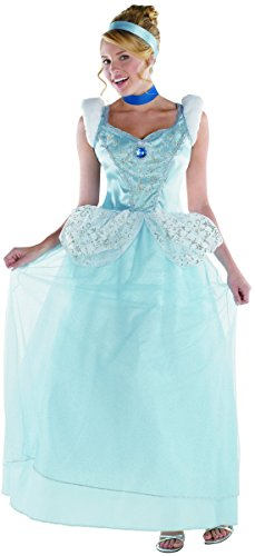 Disguise Costumes Cinderella Deluxe Costume, Adult, Small -