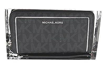 MICHAEL Michael Kors Large Flat Phone Case Wristlet Black