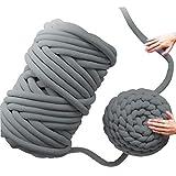 Hot Manual Woven Blanket Core Yarn Round Cloth Coarse Line Knitting DIY Faux Fur Hand-Knitted Yarn