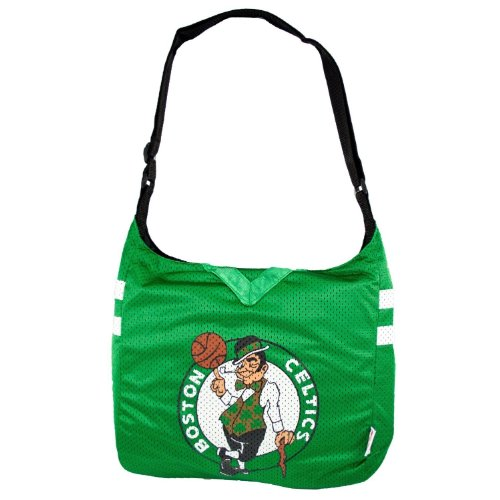 NBA Boston Celtics Jersey Purse Tote Bag by Littlearth