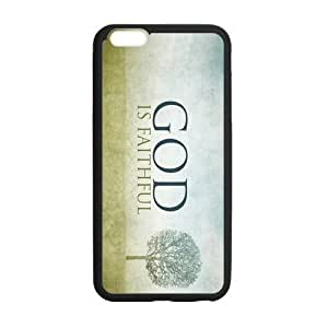 Case Cover For Apple Iphone 4/4S God Is Faithful Pure Nature Black PC Frame PC Hard Back Protective Cover Bumper Case Cover For Apple Iphone 4/4S On 2014