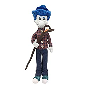 Hongzhi Craft Ian Lightfoot Plush 14.9 Inches Elf Brothers Soft Toys Magical Staff