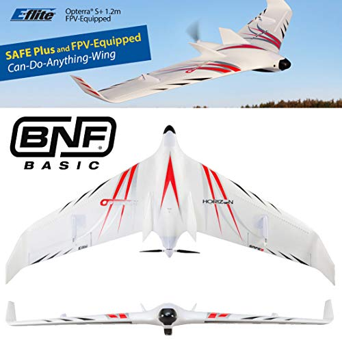 E-flite Opterra S+ 1.2m FPV-Equipped BNF Basic with AS3X and Safe Plus, EFL11460