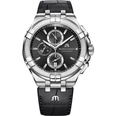 Maurice Lacroix AIKON Mens Chronograph Design Highlight