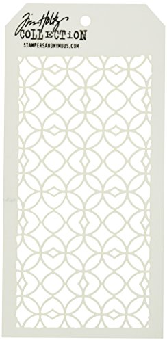 Stampers Anonymous Tim Holtz Layered Stencil, 4.125 by 8.5-Inch, Latticework