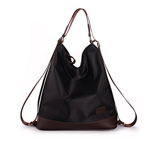 Shoulder Crossbody Function Color Handbag Elegant Nylon Black Multi LA Purple Fashion Tote HAUTE Purse Women's Bag HAUTE Bag LA Backpack gq7vZf