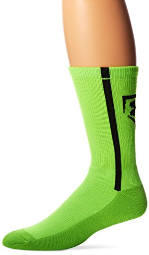 Under Armour Men's Baseball Crew Socks (1 Pair), Hyper Green/Black, Medium - Mens Toy Story Socks