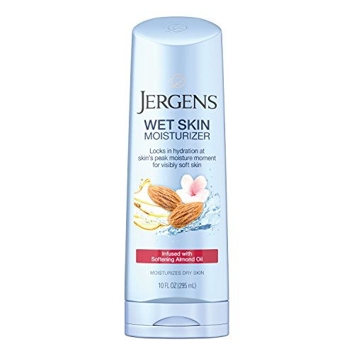 Jergens Wet Skin Cherry Almond Oil Moisturizer, 10 Fluid Ounce