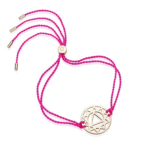 Daisy London Rose Gold Bracelet Chakra de la gorge