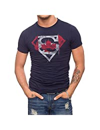 Jack Of All Trades Superman Canadian Flag T-Shirt
