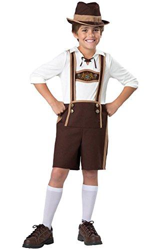Oktoberfest Bavarian Guy German Boys Child Costume