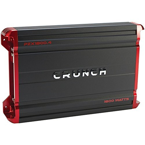 CRUNCH PZX1800.4 POWERZONE 4-Channel Class AB Amp (1,800 Watts) electronic consumer by Crunch