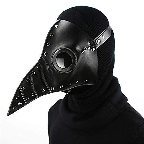 Steampunk Halloween Cospaly Bird Masks Plague Doctor Leather Mask Halloween Costume Masks