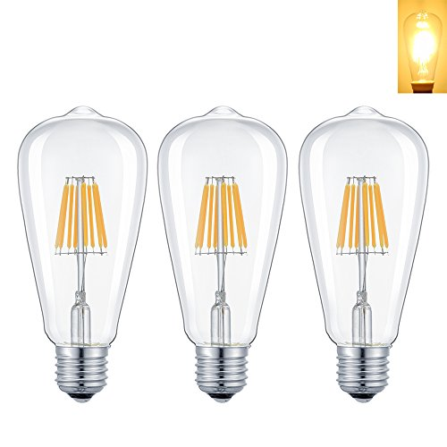 E26 Dimmable Antique Incandescent Replacement