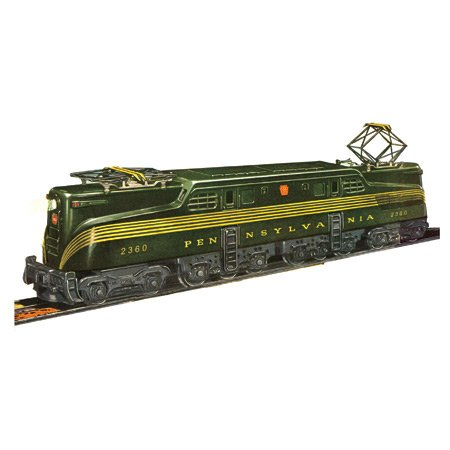 - Williams by Bachmann Pennsylvania Green 5 Stripe #2360 Classic GG1 O Scale Locomotive