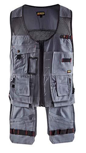 Blaklader 310013709499XL Craftman Vest, X-Large, Grey/Black by Blaklader (Image #1)