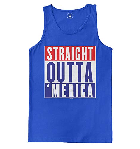 Haase Unlimited Straight Outta Herren Tank Top Parody USA