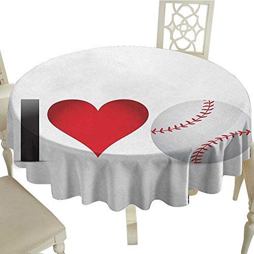 Sports Circular Table Cover D 36