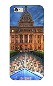 Fashion PC Case Cover For Apple Iphone 4/4S Texas State Capitol, Austin Lovers