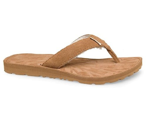 98d977cc465 Amazon.com | UGG Tasmina Women's Flip Flops Shoes Chestnut Size 8 ...