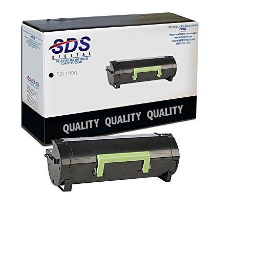 Lexmark MS310 MS410 50F1H00 Hi-Yield 5K (Black) Return Program Toner SDS Platinum (Lexmark Ms610dtn Laser Printer)