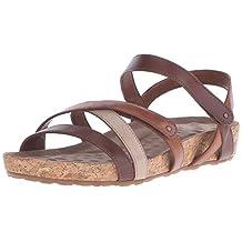 Walking Cradles Women's Pool Dark Copper/Pewter/Gunmetal sandals 7 N