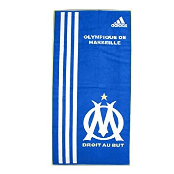 Adidas Serviette de Bain/Plage / Piscine Olympique de Marseille Om T ...