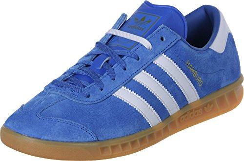 adidas Unisex-Erwachsene Hamburg Low-Top Blau (Blau(Azucieftwblagum2)