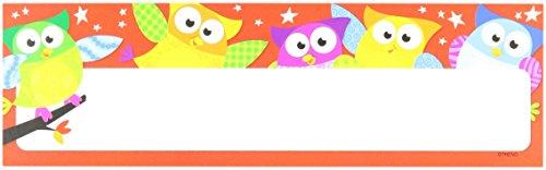 Trend Enterprises Owl-Stars! Desk Toppers Name Plates Variety Pack, 32/Pkg (T-69910)