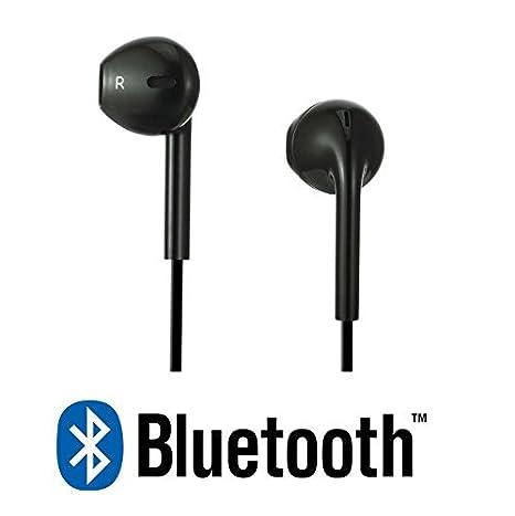 Auricolari NERI Bluetooth sport Audio Stereo e microfono Cuffie senza fili  per Iphone 08fea910b124