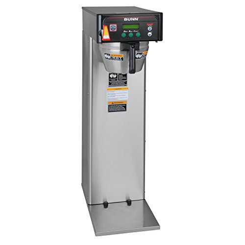 BUNN 36600.000500000002 BUNN Infusion Series Brew Wise DBC Coffeemaker Tall, Black/Stainless