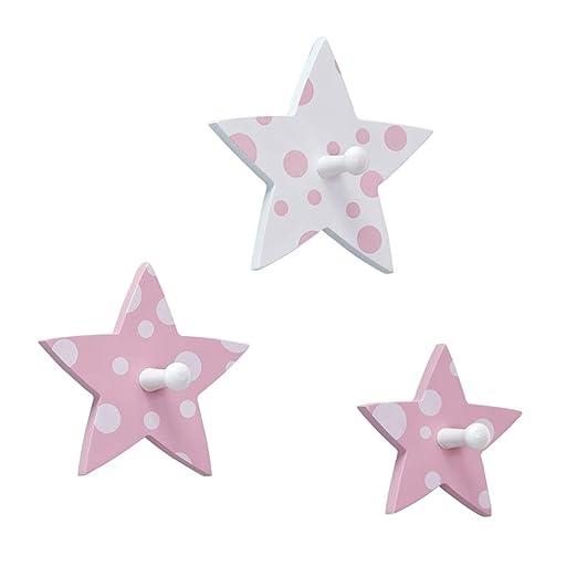 Ganchos Perchero Estrella de Cinco Puntas de la habitación ...