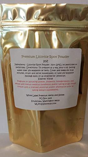 Premium Licorice Root Powder 2oz Non Gmo No Additives